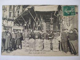 AL07062020- 75 - PARIS -  CRUE DE LA SEINE 30 JANVIER 1910 - DEPOT DE PAIN GARE DE LYON - - Überschwemmung 1910