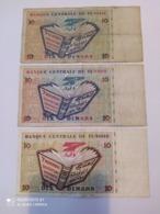Banconote 10 Dinars Tunisia - Tunisie