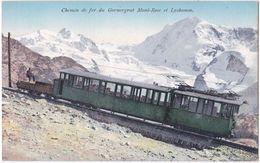 Chemin De Fer Du Gornergrat. Mont-Rose Et Lyskamm. 8237 - VS Valais