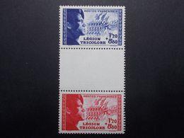Lot Timbres FRANCE N°565/566 Triptyque Neuf** Sans Charnière (33) - Marcofilia (Sellos Separados)