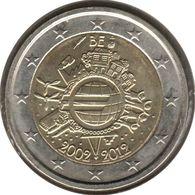 BE20012.1 - BELGIQUE - 2 Euros Commémo. 10 Ans De L'euro - 2012 - Bélgica
