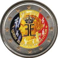 BE20012.4 - BELGIQUE - 2 Euros Commémo. Colorisée Concours Reine Elisabeth - 2012 - Bélgica