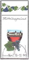 Austria Österreich 2016 Weinregionen Österreichs (V): Mittelburgenland USED / O / GESTEMPELT - 2011-... Usati