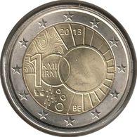 BE20013.1 - BELGIQUE - 2 Euros Commémo. Institut Royal Météorologique - 2013 - Bélgica