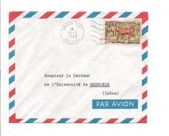 SENEGAL  LETTRE AVION DE DAKAR YOFF POUR LA FRANCE 1963 - Senegal (1960-...)