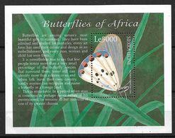 SIERRA LEONE 2001 BUTTERFLIES MNH - Butterflies