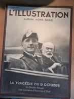 Illustration 1934 Tragédie 9 Octobre Assassinat Roi Alexandre Louis Barthou Canebière Marseille Croiseur Dubrovnik - Newspapers