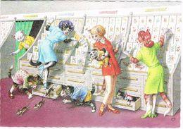 Chats Humanisé-dressed Cats -katzen -geklede Poezen -Mainzer - Gatto- - Gatti