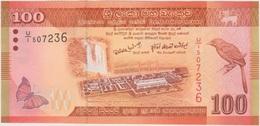 100 ROUPIES  2010 - Sri Lanka