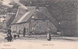 2604231Emmen, Drentsche Woning Rond 1900. - Emmen