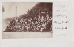 2604294Voorschoten, 25 Jaar Beataan Thalia Euterpe: Feest In De Vink (poststempel 1904)(FOTOKAART) - Other
