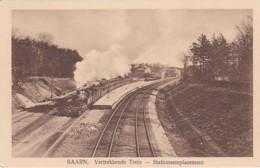 260686Baarn, Vertrekkende Trein Stationsemplacement. (minuscule Vouwen In De Hoeken) - Baarn