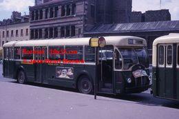 Reproduction D'unePhotographie D'un Bus Somua Ligne Charenton-Maisons Alfort Avec Pub Café Caiffa à Paris En 1963 - Repro's