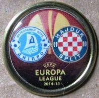 Pin Europa League 2014-2015 Play-off Round Dnipro Dnipropetrovsk - Hajduk Split - Fútbol