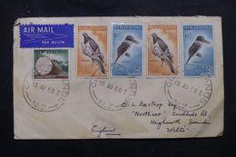 NOUVELLE ZÉLANDE - Enveloppe De Claudelands En 1960 Pour Le Royaume Uni, Affranchissement Plaisant - L 63400 - Cartas