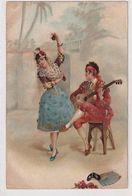 Flamenco - Litho Mit Strass - 1901      (A-233/I-200615) - Autres