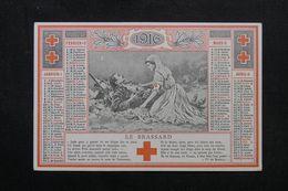CALENDRIER - Calendrier De La Croix Rouge En 1916 - Bel état - L 63402 - Petit Format : 1901-20