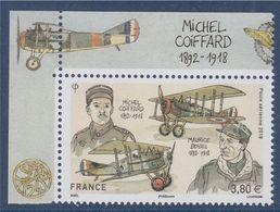 Michel Coiffard Et Maurice Boyau De Feuillet Poste Aérienne 3.80€ N°82 Sur Marge  Michel Coiffard - 1960-.... Ungebraucht