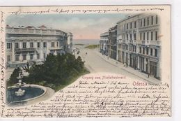 Odessa - Eingang Zum Nicolai-Boulevard - 1901      (A-233/I-200615) - Ukraine