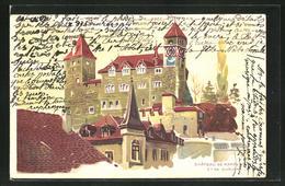AK Rapperswil, Chateau, Schlossansicht - SG St-Gall