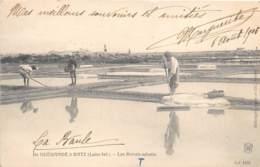 LOIRE ATLANTIQUE  44  DE GUERANDE A BATZ - LES MARAIS SALANTS - Guérande