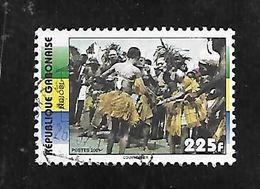 TIMBRE OBLITERE DU GABON DE 2001 N° MICHEL 1657 - Gabon