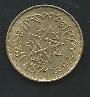 Maroc   10 FRANCS 1371 AH MAROKKO  Laupi 13104 - Marokko