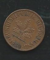 Allemagne 1 PFENNIG 1950 J   Laupi 13107 - [ 7] 1949-… : RFA - Rep. Fed. Alemana