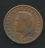 1 CENTAVO 1969 EL SALVADOR Laupi 13113 - El Salvador