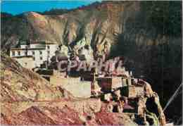 CPM Ladakh Indien Lamayuru Monastery With Caves Carved Out Of Mountains Gandhi - India