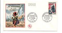 FDC 1965 PEUPLEMENT ILE BOURBON - 1960-1969