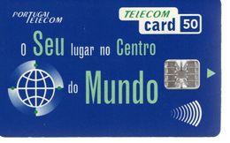 Telecom Card 50 - Mundo - Portugal