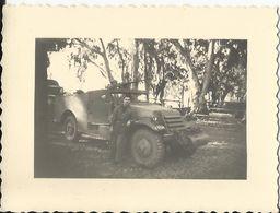Militaria - Auto Mitrailleuse Blindée - Le White M3A1 Scout Car Photo 8.3 X 6 Cm - Matériel