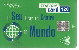 Telecom Card 120 - Mundo - Portugal