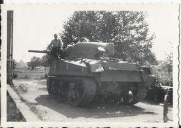 Miliaria - Blindé,  M4 Sherman Tank Photo 8.7 X 6 Cm - Matériel