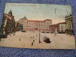 C.P.A.- Italie - Torino Turin - Piazza Castello E Palazzo Reale - 1923 - SUP - (DE 60) - Palazzo Reale