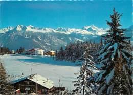 Suisse - VS Valais - Montana - Crans - Le Lac Grenon Et Les Alpes - Hiver - Neige - CPM - Carte Neuve - Voir Scans Recto - VS Valais