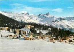 Suisse - VS Valais - Montana - Crans - Vue Générale - Hiver - Neige - CPM - Carte Neuve - Voir Scans Recto-Verso - VS Valais