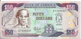 JAMAIQUE - 50 Dollars 2010 - UNC - Jamaica