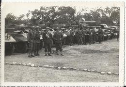 Militaria - Marnia Algérie, Peloton D'Auto-mitrailleuses Blindées Dont SCOUT CAR WHITE M3A1 Photo 12.3 X 9 Cm - Matériel