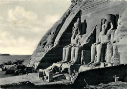 Egypte - Assouan - Aswan - Assuan - Abu-Simbel Rock - Temple Of Ramses II - Voir Timbre - CPSM Grand Format - Voir Scans - Aswan