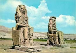Egypte - Thèbes - The Memnon Colossi (Amenophis III) - Antiquité Egyptienne - Carte Neuve - CPM - Voir Scans Recto-Verso - Autres