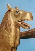 Egypte - Antiquité Egyptienne - Trésor De Toutankhamon - Tête De Lit Funéraire - Carte Neuve - CPM - Voir Scans Recto-Ve - Musées