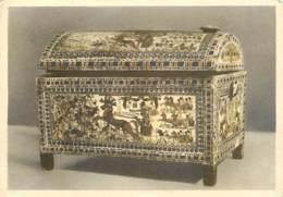 Egypte - Antiquité Egyptienne - Trésor De Toutankhamon - Magnificent Wooden Chest, Decorated With Paintings Resembling M - Musées