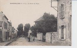 SEINE Et MARNE - SOGNOLLES - La Route De Paris  ( - Carte écrite En 1922 ) - Autres Communes