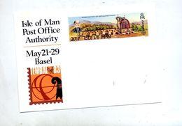 Carte Postale  Moulin Laxey  Expo Tembal - Man (Ile De)