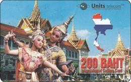 Rar Thailand Calling Card Dancing Thai Ladys - Hong Kong