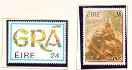 IRELAND  -  1989 Greetings Set Unmounted/Never Hinged Mint - Ungebraucht