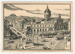 Sogno - Clermont-Ferrand  -  La Place De Jaude Et Le Dôme De St-Pierre Des Minimes - Other Illustrators