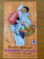 1 BUVARD PIERROT GOURMAND - Sucreries & Gâteaux
